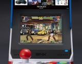 液晶ディスプレイを搭載したアーケード筐体デザイン=「NEOGEO mini」今夏の発売が決定
