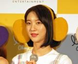 ビニ=「OH MY GIRL BANHANA」日本デビュー記者会見より (C)ORICON NewS inc.