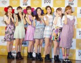 OH MY GIRL派生ユニット「OH MY GIRL BANHANA」=「OH MY GIRL BANHANA」日本デビュー記者会見 (C)ORICON NewS inc.