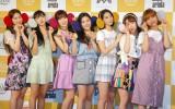 「OH MY GIRL BANHANA」日本デビュー記者会見の模様 (C)ORICON NewS inc.