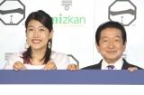 『料理論』を告白した(左から)横澤夏子、草野仁(C)ORICON NewS inc.