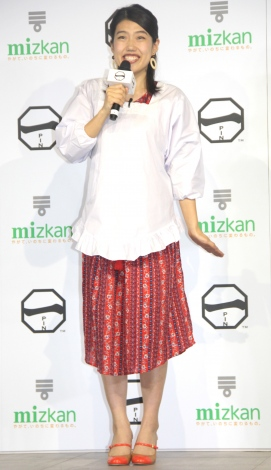 ミツカン『味確認室プロジェクト』キックオフイベントに出席した横澤夏子 (C)ORICON NewS inc.