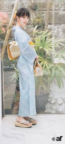 サムネイル 『ar』7月号で浴衣姿を披露した乃木坂46・堀未央奈