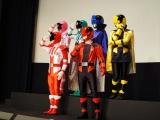 映画『快盗戦隊ルパンレンジャーVS警察戦隊パトレンジャー en film』製作発表会見の模様 (C)ORICON NewS inc.