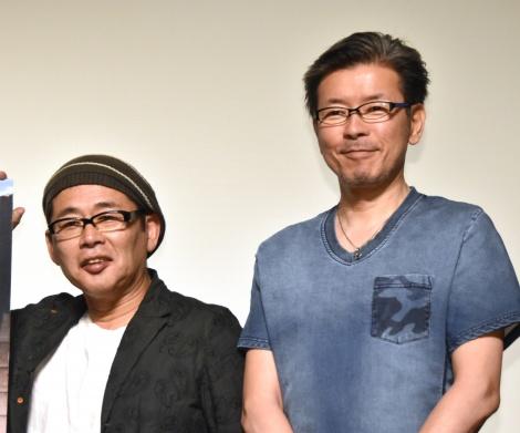 (左から)藤村忠寿D、嬉野雅道D=映画『焼肉ドラゴン』トークショー (C)ORICON NewS inc.
