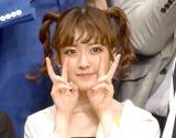 『よしもとオススメ芸人2018 お披露目会』に出席した須藤凜々花 (C)ORICON NewS inc.