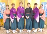 (左から)白藤麗華、真麻里都、桐生麻耶、高世麻央、楊琳、舞美りら (C)ORICON NewS inc.