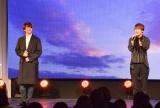 『2018韓国観光フェスティバル』のライブステージに登場した(左から)ソンジェ、ユナク (C)ORICON NewS inc.
