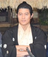 NHK大河ドラマ『西郷どん』取材会に出席した鈴木亮平 (C)ORICON NewS inc.