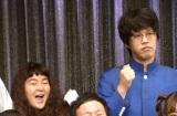 『よしもとオススメ芸人2018 お披露目会』に出席したゆにばーす (C)ORICON NewS inc.