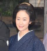NHK大河ドラマ『西郷どん』取材会に出席した黒木華 (C)ORICON NewS inc.