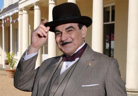 AXNミステリー開局20周年記念特別企画「あなたの好きな名探偵投票キャンペーン」第3位はエルキュール・ポワロ。画像は『名探偵ポワロ』(c)ITV PLC