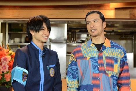 中島健人のものまねを長瀬智也が一喝(C)日本テレビ