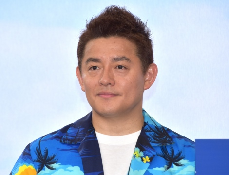 『Booking.com Cafe』オープン記念イベントに出席したスピードワゴン・井戸田潤 (C)ORICON NewS inc.