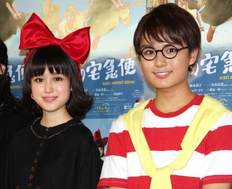ミュージカル『魔女の宅急便』の見どころを語った(左から)福本莉子、大西流星 (C)ORICON NewS inc.