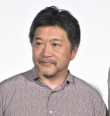 是枝裕和監督=映画『万引き家族』大ヒット御礼舞台あいさつ (C)ORICON NewS inc.