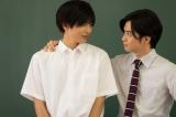 (左から)志尊淳、千葉雄大 (C)2018「走れ!T校バスケット部」製作委員会