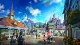 『アナと雪の女王』をテーマとしたエリア(C)Disney