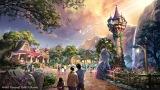 『塔の上のラプンツェル』をテーマとしたエリア(C)Disney
