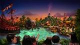 『ピーター・パン』をテーマとしたエリア(C)Disney