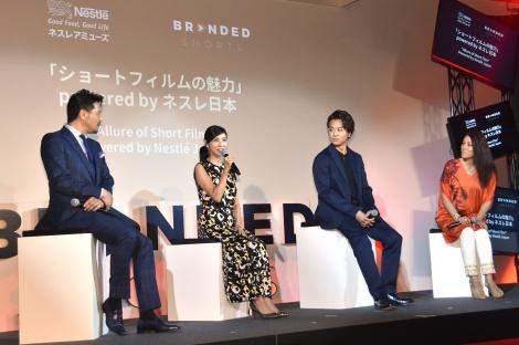 『「ショートフィルムの魅力」 powerd by ネスレ日本〜』の模様 (C)ORICON NewS inc.