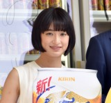 『新!のどごし<生>号全国出陣式』に出席した門脇麦 (C)ORICON NewS inc.