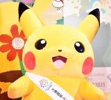 可愛くポーズをとるピカチュウ=『〜ポケモンといっしょに〜EXPO2025の日本誘致を応援しようプロジェクト発表会』 (C)ORICON NewS inc.
