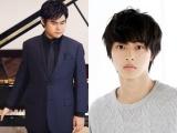 ピアニスト・辻井伸行(左)が6月15日放送、テレビ朝日系『ミュージックステーション』に初出演。山崎賢人(右)も見守る中で久石譲とタッグを組んだ話題の映画エンディングテーマを生演奏