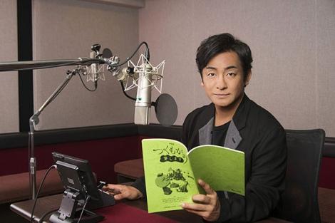 ナレーションを担当する片岡愛之助=NHK総合で放送予定のアニメ『つくもがみ貸します』(7月22日スタート)(C)2018 畠中恵・KADOKAWA/つくもがみ製作委員会