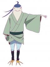 五位(CV:平川大輔)=NHK総合で放送予定のアニメ『つくもがみ貸します』(7月22日スタート)(C)2018 畠中恵・KADOKAWA/つくもがみ製作委員会