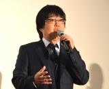 映画『空飛ぶタイヤ』公開記念舞台あいさつに登壇した六角精児 (C)ORICON NewS inc.