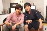 AbemaTV『声優と夜あそび』金曜MCの(左から)佐藤拓也、関智一