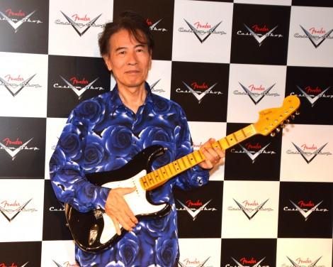 『FENDER CUSTOM SHOP EXHIBITION』でトークショーを開催した鈴木茂 (C)ORICON NewS inc.