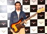 『FENDER CUSTOM SHOP EXHIBITION』でトークショーを開催したハマ・オカモト (C)ORICON NewS inc.