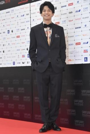 『ショートショート フィルムフェスティバル & アジア2018』アワードセレモニーに登壇した森崎ウィン (C)ORICON NewS inc.
