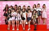 『第10回AKB48世界選抜総選挙』選抜メンバー 撮影:estudio pepe 神田有希(C)oricon ME inc.