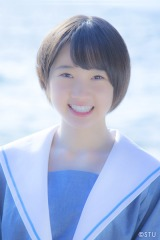 2ndシングルで初選抜された甲斐心愛(C)STU