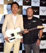 ギターについて熱く語った(左から)布袋寅泰、ポール・ウォーラー氏 (C)ORICON NewS inc.