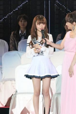 37位にランクインしたNGT48・中井りか 撮影:estudio pepe 神田有希(C)oricon ME inc.