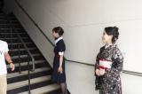 大河ドラマ『西郷どん』に出演する鈴木亮平と二階堂ふみが描かれた特別塗装機が鹿児島から就航。記念セレモニーに出席した奄美出身の城南海