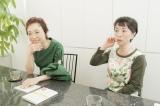 「クラブ・ウィルビー」で鼎談した(左から)クミコ、阿川佐和子