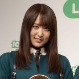 『LINE Pay大型キャンペーン「10円ピンポン」』新CM発表会に出席した菅井友香 (C)ORICON NewS inc.