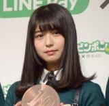 『LINE Pay大型キャンペーン「10円ピンポン」』新CM発表会に出席した長濱ねる (C)ORICON NewS inc.