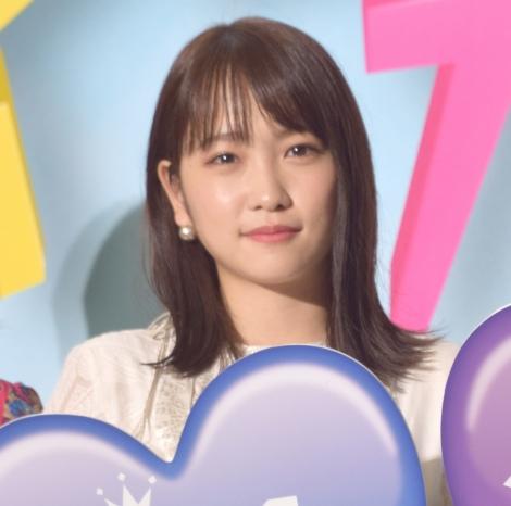映画『センセイ君主』の完成披露イベントに出席した川栄李奈 (C)ORICON NewS inc.