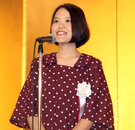 第17回『女による女のためのR-18文学賞』授賞式に出席した辻村深月 (C)ORICON NewS inc.