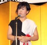 第17回『女による女のためのR-18文学賞』授賞式に出席した清水裕貴 (C)ORICON NewS inc.