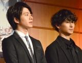 舞台『魔界転生』製作発表会見に出席した(左から)村井良大、松田凌 (C)ORICON NewS inc.