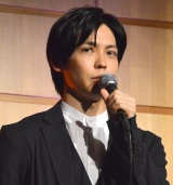 舞台『魔界転生』製作発表会見に出席した猪塚健太 (C)ORICON NewS inc.