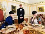 初めての食リポ(C)NHK
