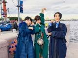6月30日放送、NHK総合『猫にまた旅 〜椎名林檎・MIKIKO・西加奈子 ロシアを行く〜』(C)NHK